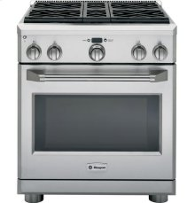 "GE Monogram® 30"" Dual-Fuel Professional Range with 4 Burners (Liquid Propane)"