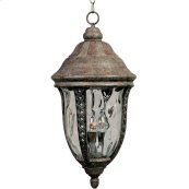 Whittier Cast 3-Light Outdoor Hanging Lantern