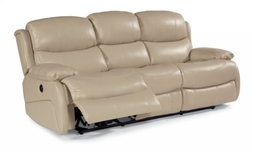Amsterdam Leather Power Reclining Sofa