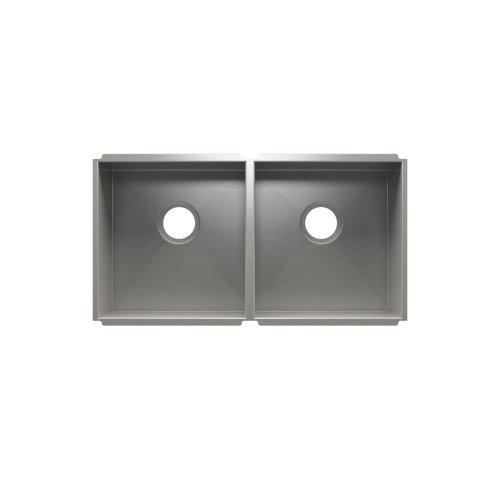 """UrbanEdge® 003653 - undermount stainless steel Kitchen sink , 15"""" × 16"""" × 8""""  15"""" × 16"""" × 8"""""""