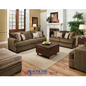 American Furniture Manufacturing3650 - Cornell Cocoa Sofa