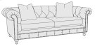 Riviera Loveseat in Molasses (780) Product Image
