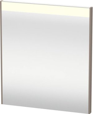 Mirror With Lighting, Basalt Matt (decor) Product Image