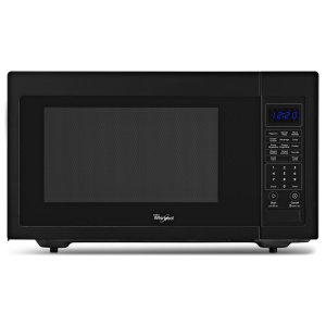 1.6 cu. ft. Countertop Microwave with 1,200 Watts Cooking Power - BLACK