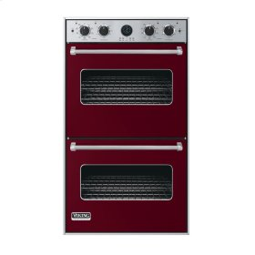 """Burgundy 30"""" Double Electric Premiere Oven - VEDO (30"""" Double Electric Premiere Oven)"""