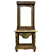 3 pc. Turquoise Copper Vanity w/ Mirror Product Image