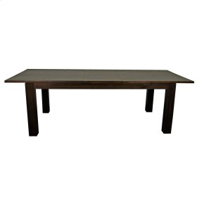 """Bedford Butterfly Dining Table w/ 20"""" Ext., Cocoa Glaze"""