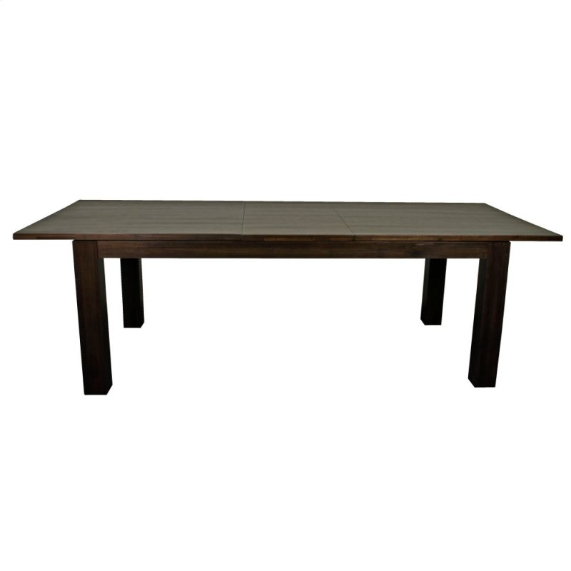 Bedford Butterfly Dining Table W 20 Ext Cocoa Glaze