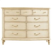 European Cottage - Dressing Chest In Vintage White