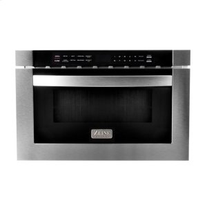 "Zline KitchenZLINE 24"" 1.2 cu. ft. Microwave Drawer in Stainless Steel (MWD-1)"