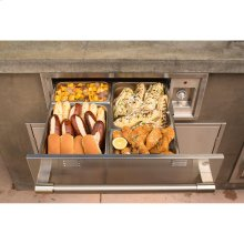 "30"" Warming Drawer, 110V Powered"