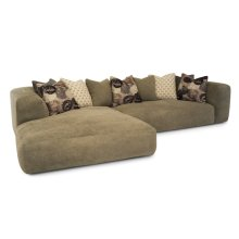 Chill 2pc Chaise Sectional