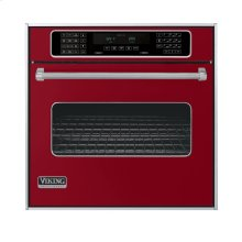 """Apple Red 30"""" Single Electric Touch Control Premiere Oven - VESO (30"""" Wide Single Electric Touch Control Premiere Oven)"""