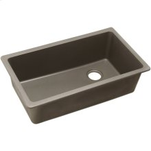 "Elkay Quartz Classic 33"" x 18-3/4"" x 9-1/2"", Single Bowl Undermount Sink, Greige"