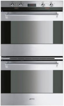 """76CM (30 ) """"Classic"""" Electric Multifunction Double Oven Stainless Steel"""