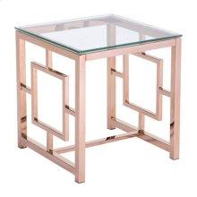 Geranium Side Table Rose Gold