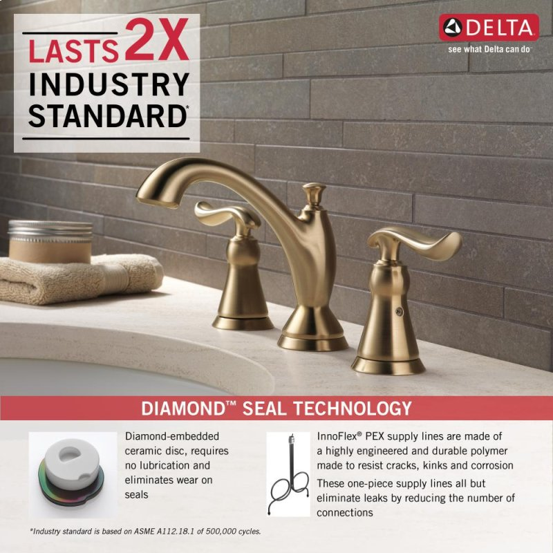 3594CZMPUDST in Champagne Bronze by Delta Faucet Company in Atlanta ...