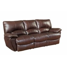 Clifford Motion Dark Brown Double Power Reclining Sofa
