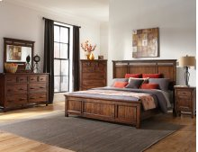 Wolf Creek Panel Bed