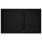 """Black Floating Glass 36"""" JX3 Electric Downdraft Cooktop with Glass-Touch Electronic Controls Product Image"""