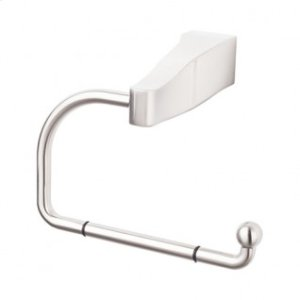 Aqua Bath Tissue Hook - Brushed Satin Nickel