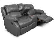 Litton Double Reclining Loveseat Console 201085L Product Image