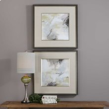 Abstract Vistas Framed Prints, S/2