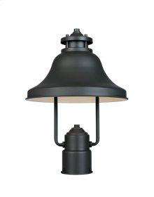 """11"""" Post Lantern - Dark Sky in Bronze"""