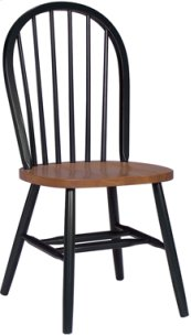 Windsor Chair Cherry & Black