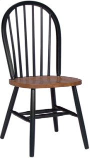 Windsor Chair Cherry & Black Product Image