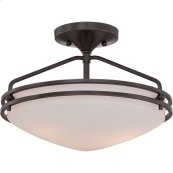 Ozark Semi-Flush Mount in Palladian Bronze