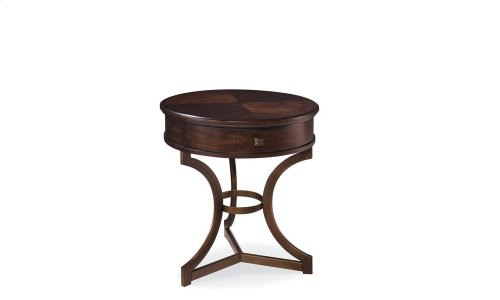 Intrigue Round End Table