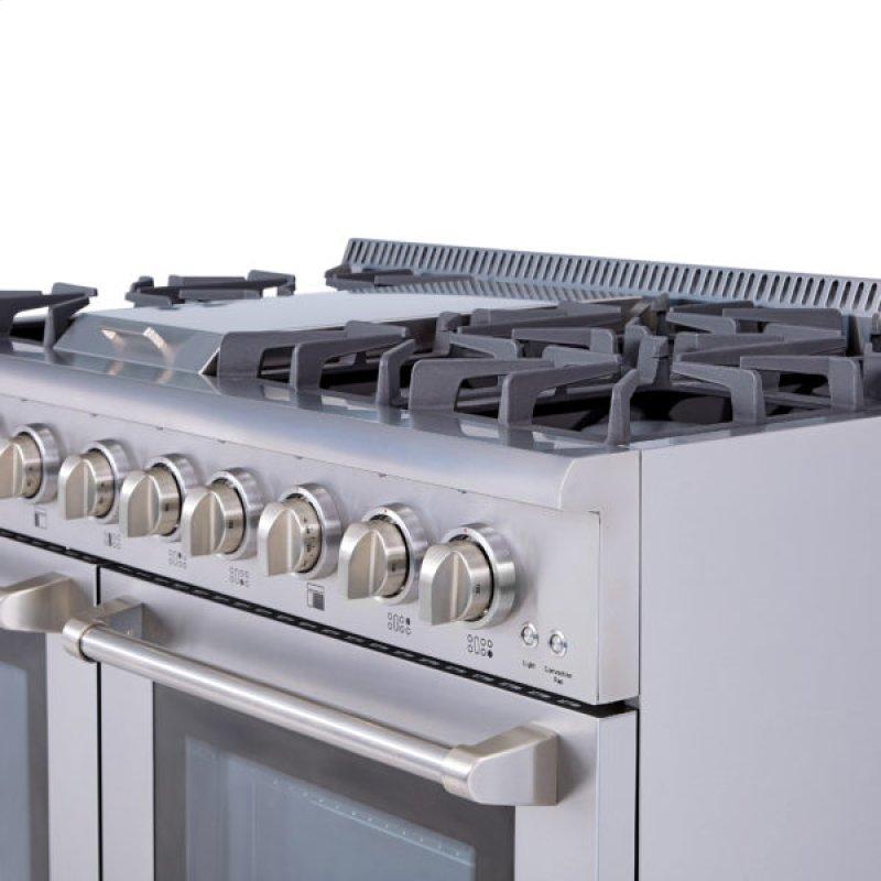 48 6 Burner Stainless Steel Professional Gas Range