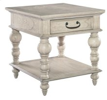 Homestead Drawer Lamp Table