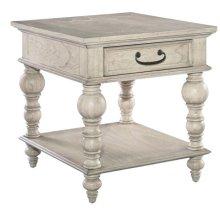 Homestead Drawer Lamp Table