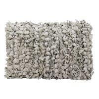 "Shag Dl658 Grey 14"" X 20"" Throw Pillow Product Image"