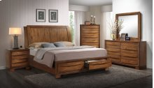 Brandy Light Storage Bedroom