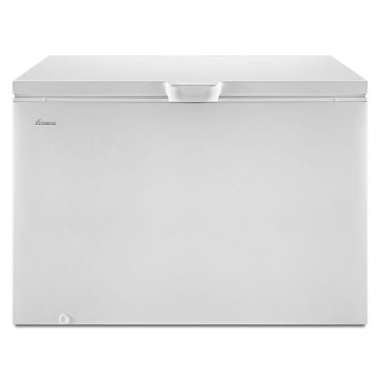 15 Cu. Ft. Chest Freezer with 2 Baskets - white  WHITE