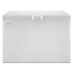 Amana15 Cu. Ft. Chest Freezer with 2 Baskets - white
