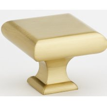 Manhattan Knob A310-45 - Satin Brass