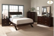 Eastern King Sleigh Platform Bed