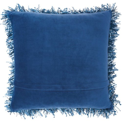 "Shag Tl050 Navy 20"" X 20"" Throw Pillows"