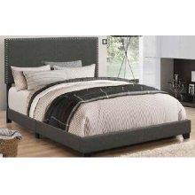 Boyd Upholstered Ivory Full Bed