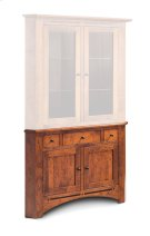 "Aspen Corner Hutch Base, 38"" Product Image"