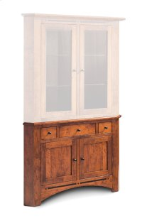 Aspen Corner Hutch Base, Medium Product Image