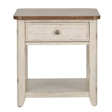 End Table with Basket