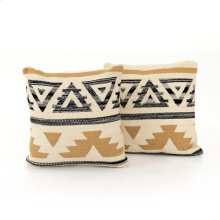 """20x20"""" Size Aster Pillow, Set of 2"""