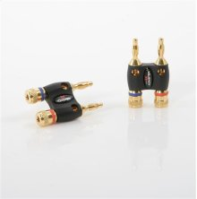 Monster Dual Banana Speaker Cable Adapters MKII - 2 pr