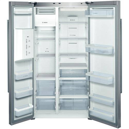 Counter Depth Side by Side Refrigerator 300 Series - Stainless Steel