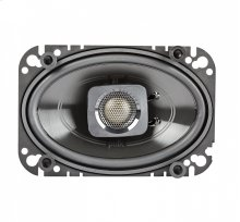 """DB+ Series 4""""x6"""" Coaxial Speakers with Marine Certification in Black"""
